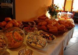 Frühstücksbuffet im Haus Barion