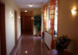 Hotelflur Haus Barion
